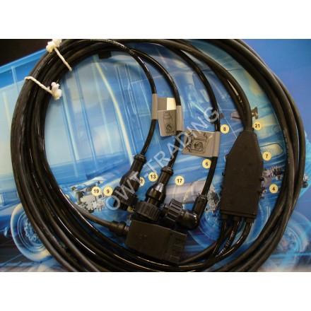 Cablu modulator EBS D trailer
