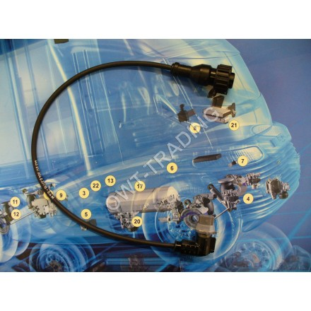 Cablu senzor presiune