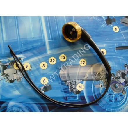 Cablu electroventil