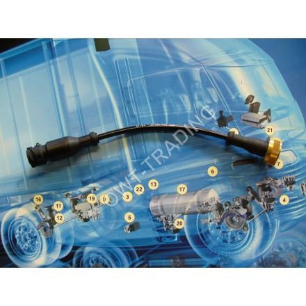 Cablu adaptor doza M27x1 la baioneta