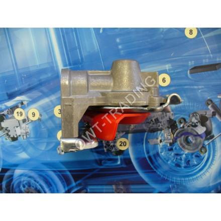 Semicupla aer (rosu) cap tractor M16