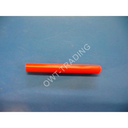 Tub poliamida Ø12x1,5 rosu