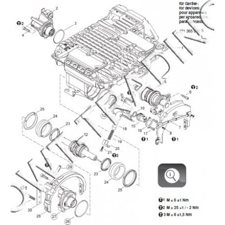 Set reparatie CV 421 365 000 0