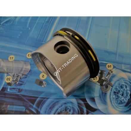 Piston compresor 85mm cu segmenti